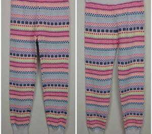 Gap Kids colorful knit leggings